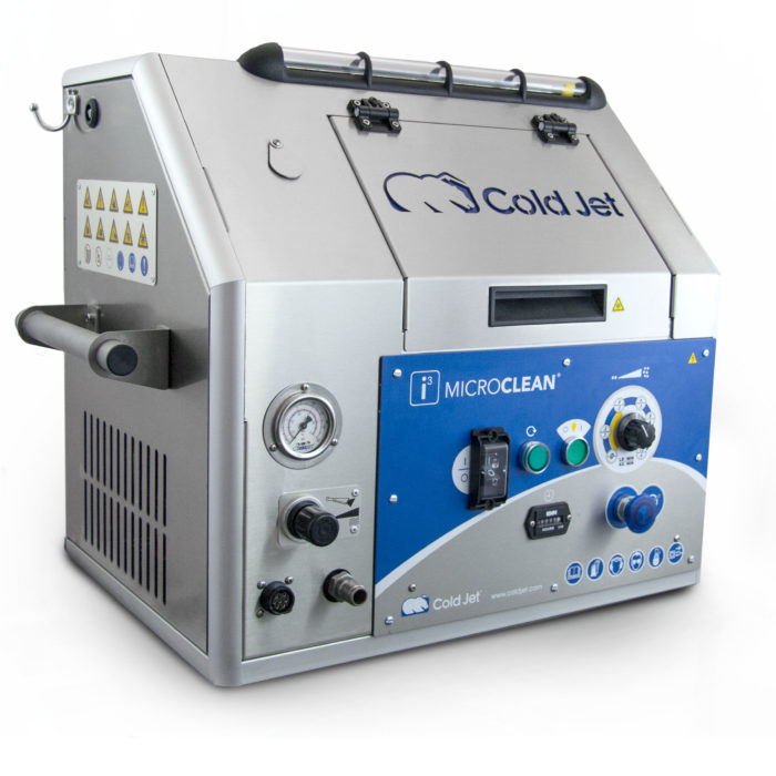 i3 MicroClean dry ice blasting machine