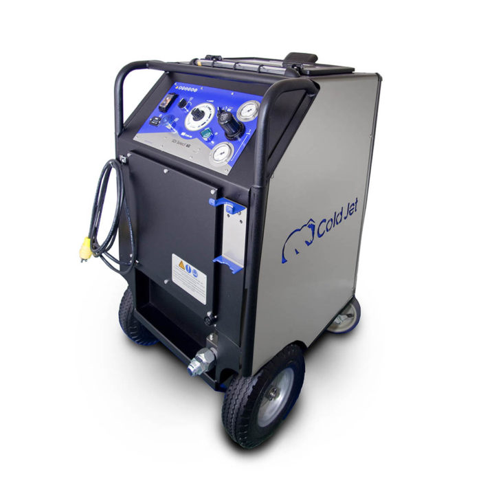 sdi select 60 dry ice blasting machine