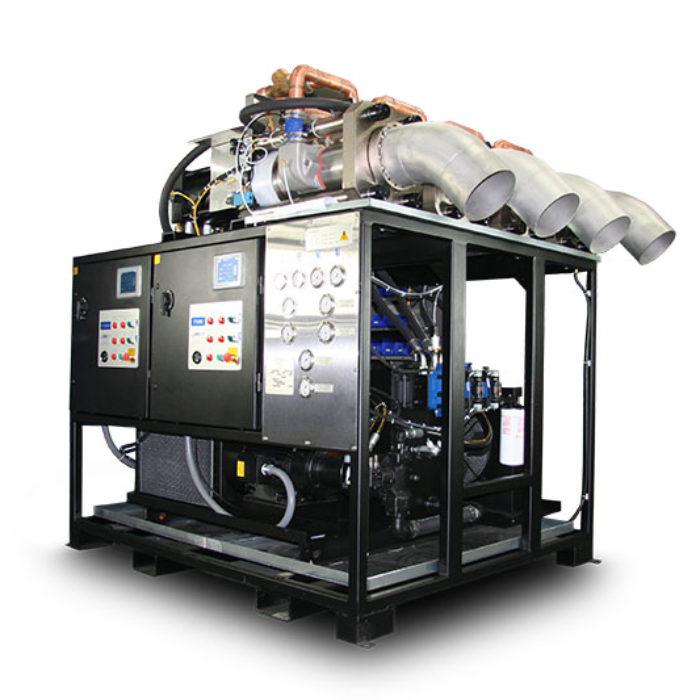 zařízení na výrobu suchého ledu P3000