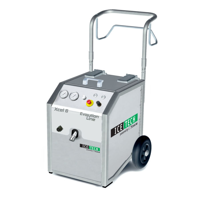 equipamentos de jateamento de gelo seco IceTech Xcel 6